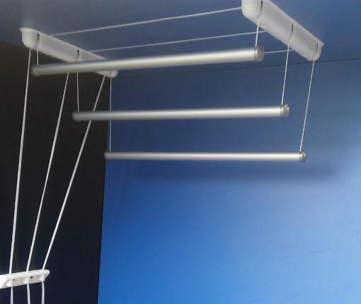 Suszarka sufitowa - aluminiowy pręt okrągłyø25 mm