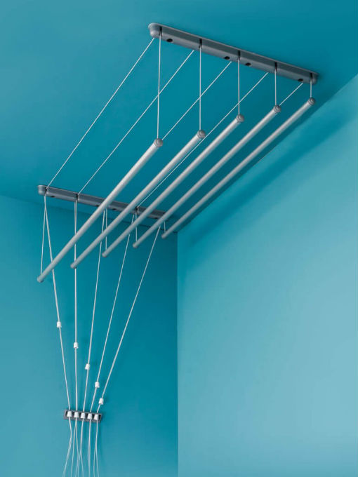 Suszarka sufitowa - aluminiowy pręt okrągłyø16 mm